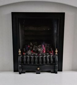 Gas fire, coal effect