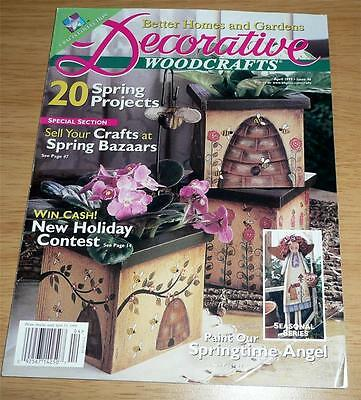 Decorative WOODCRAFTS Magazine April 1999 issue #46 *Spring projects & Bazaars](Spring Projects)