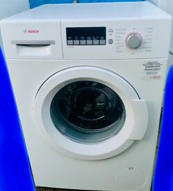Can Deliver - 'as new' immaculate large 8kg drum BOSCH washing machine