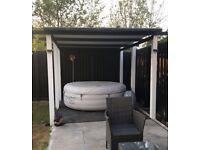 Lazy spa Vegas inflatable hot tub