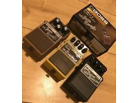 Fender/Boss effects pedals