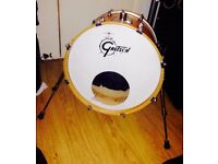 Gretsch Catalina Club Jazz 18x14 Bass Drum (with riser)