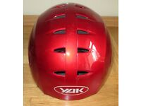 Yak Kontour red kayaking/canoeing/watersports helmet size S/M. 2 helmets available.