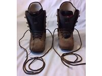Burton Sabbath Snowboard boots in excellent condition