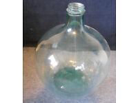 Clear Glass Carboy, Terrarium, Bottle Garden, Collection Jar, Very Large