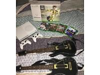 Xbox One S 500gb + 2 controllers and 4 games