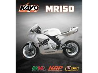 BRAND NEW-KAYO MR150 MiniGP Competition Track Bike Motorcycle 150cc