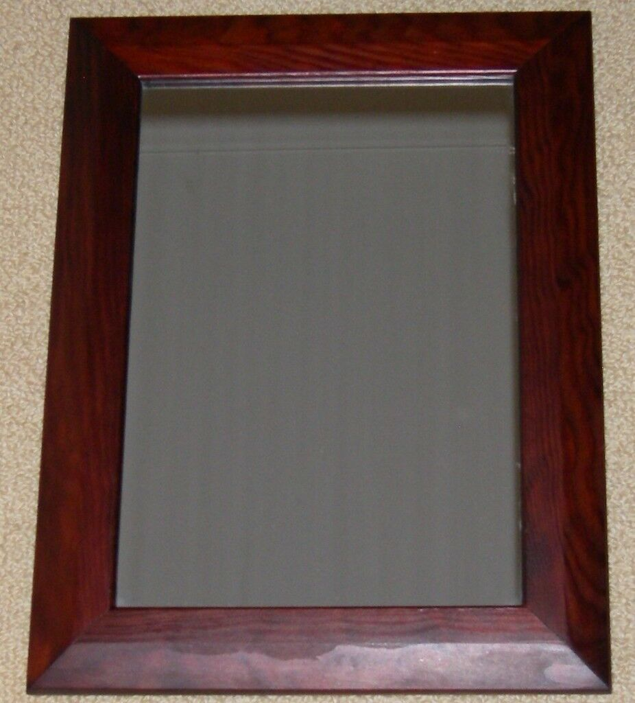 Small Dark Wood Framed Wall Mirror In Westminster London Gumtree