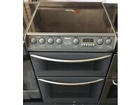 Electric ceramic 60cm cooker HOTPOINT