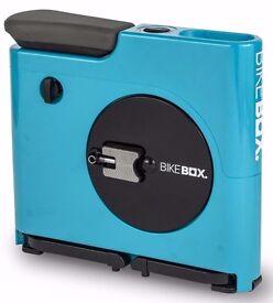 Bike Box Compact Exercise Machine Hands Free BARGAIN price Blue colour