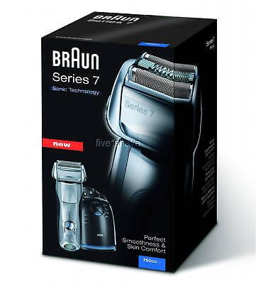 NEW Braun 360 PULSONIC 790CC-4 SERIES 7 LCD Electric SHAVER / RAZOR -