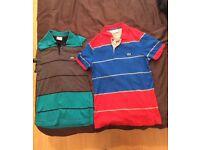 2 Lacoste Men's polo shirts £5 each Bargain!