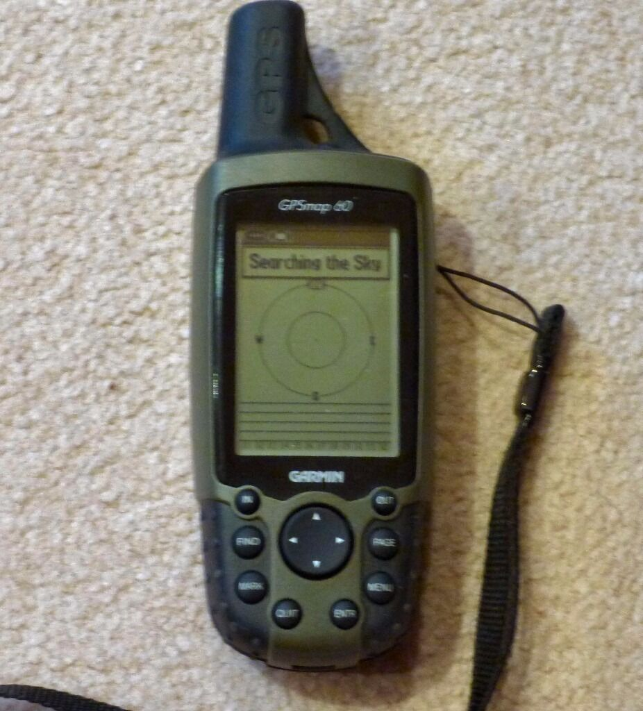 GPS MAP 60 Handheld gps mapin Cranbrook, KentGumtree - GPS map 60 Original box As new condition All manuals and cable and disc Takes 2 AA batteries