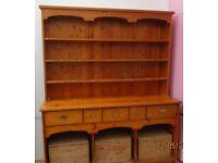 Stunning huge vintage dresser