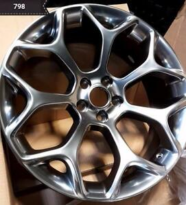 NEW!! 20 CONCAVE! HYPER BLACK -- WHEELS AND NEW TIRES!! 300S 300C CHARGER CHALLENGER MAGNUM BMW MERCEDES - 798