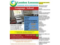 Shepherds Bush: Spanish, French, Arabic, Italian, English, Brazilian Portuguese lessons - W12 8QQ