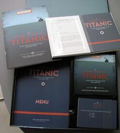 Titanic last meal board game