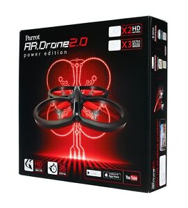 Brand New Parrot 2.0 AR.Drone Quadricopter Power Edition