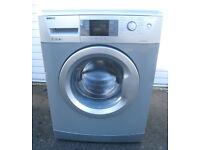 Beko WMB71642S Freestanding Washing Machine in Silver.