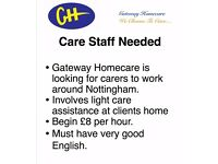 Carers Needed For Community Care