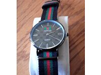 Gucci Timeless mens watch - RRP £650 BARGAIN £28.00