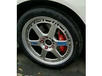 Volk rays gtp 2 piece split alloy wheels