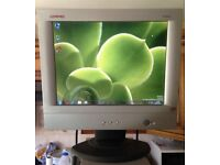 15 inch LCD monitor PC or CCTV Security Camera **FREE DELIVERY**