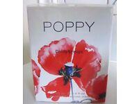 POPPY EAU DE PARFUM SPRAY 100ML BY DAINTY & HEAPS - NEW, BOXED & CELLOPHANE SEALED