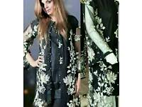 Pakistani salwar kameez jacket style suits