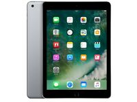 brand new unboxed Apple iPad 128GB wifi space grey