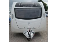 SWIFT FREESTYLE TWIN 2014 *FIXED BED* 6 BERTH CARAVAN