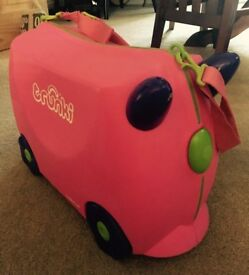 Trunki Suitcase - Used - Trixie Pink
