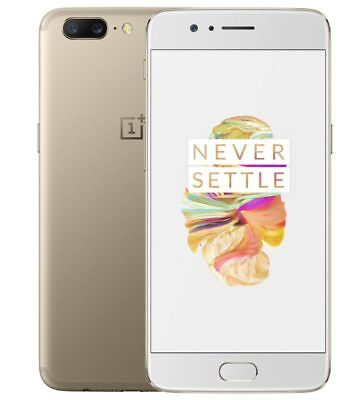 "OnePlus 5 64GB Soft Gold A5000 (FACTORY UNLOCKED) 5.5"" FHD 16MP 6GB RAM segunda mano  Embacar hacia Argentina"