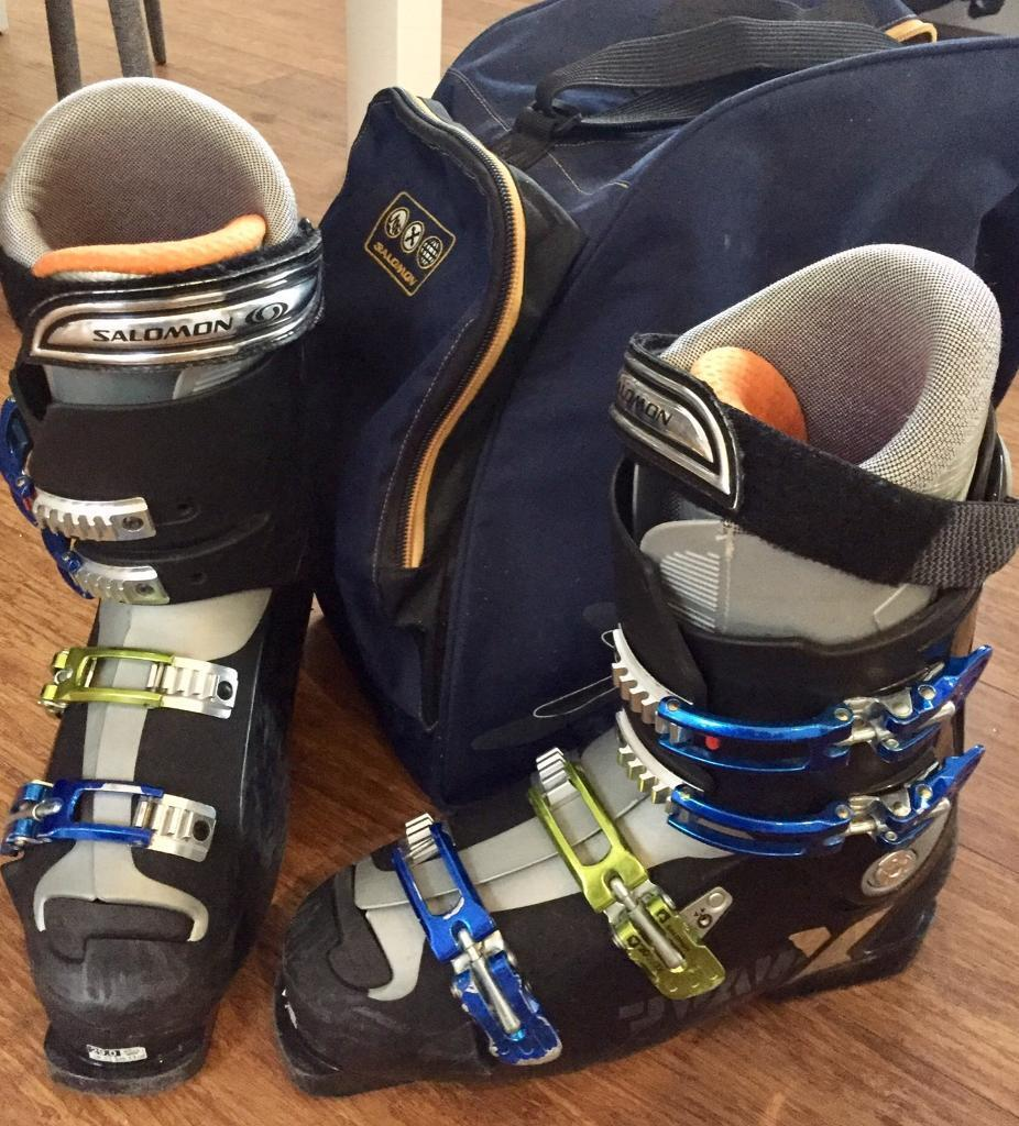 8c402c71ff63 Ski Boots - Mens Salomon Xtreme UK11 EU45 (29.0cm) with Boot Bag ...
