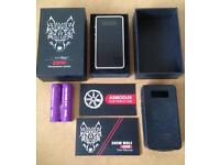 Asmodus snow wolf 200w ecig mod with batteries