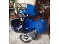 Stunning Bugaboo Cameleon 2 in Royal Blue with Car Seat and More!!!