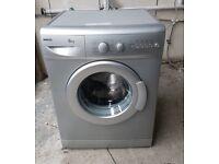 FREE DELIVERY Silver Beko 6KG, 1300spin washing machine WARRANTY