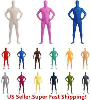 DH Zentai Suit Men's Spandex Lycra Halloween Full Body - Costums For Men