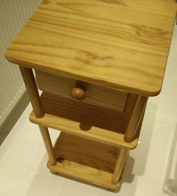 wooden stand mini table