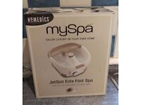 HoMedics MySpa - Foot Spa