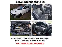 ***Astra GSi breaking - Rebuilt Z20LET, M32 Quaife box, VXR bits etc!***