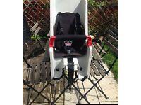 Kids car and bike seats