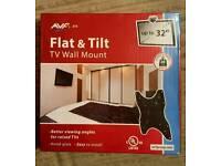 """AVF Flat & Tilt TV Wall Mount (up to 32"""" TV)"""