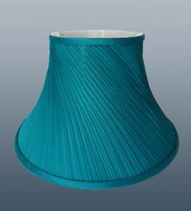 Twisted Pleat Fabric Table Lamp Shade Ceiling Light Lampshade 5 Colours / Sizes