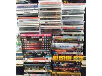 94 DVD & CD Assortment (Job Lot)