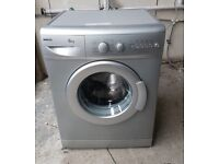FREE DELIVERY Silver Beko 6KG, 1300spin washing machine WARRANTY