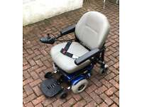PRIDE JAZZY JET 3 ULTRA ELECTRIC / POWER WHEELCHAIR WITH ELECTRIC SEAT LIFT
