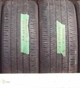 Set of two 205 55 16 tires for sale!