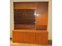 Retro storage/display cabinet. 177cm high, 150cm wide. Upcycling opportunity. Maidenhead