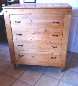 Pine Chest Drawers